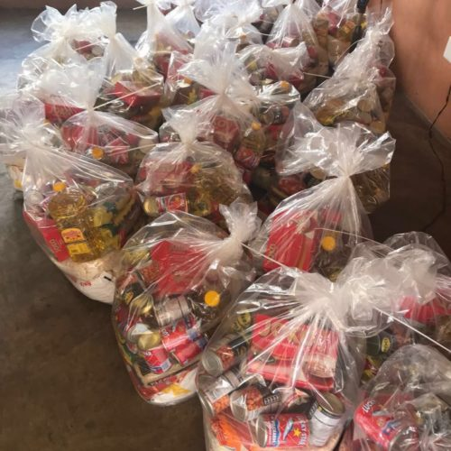 GladAfrica Foundation Christmas Hamper drive 2017