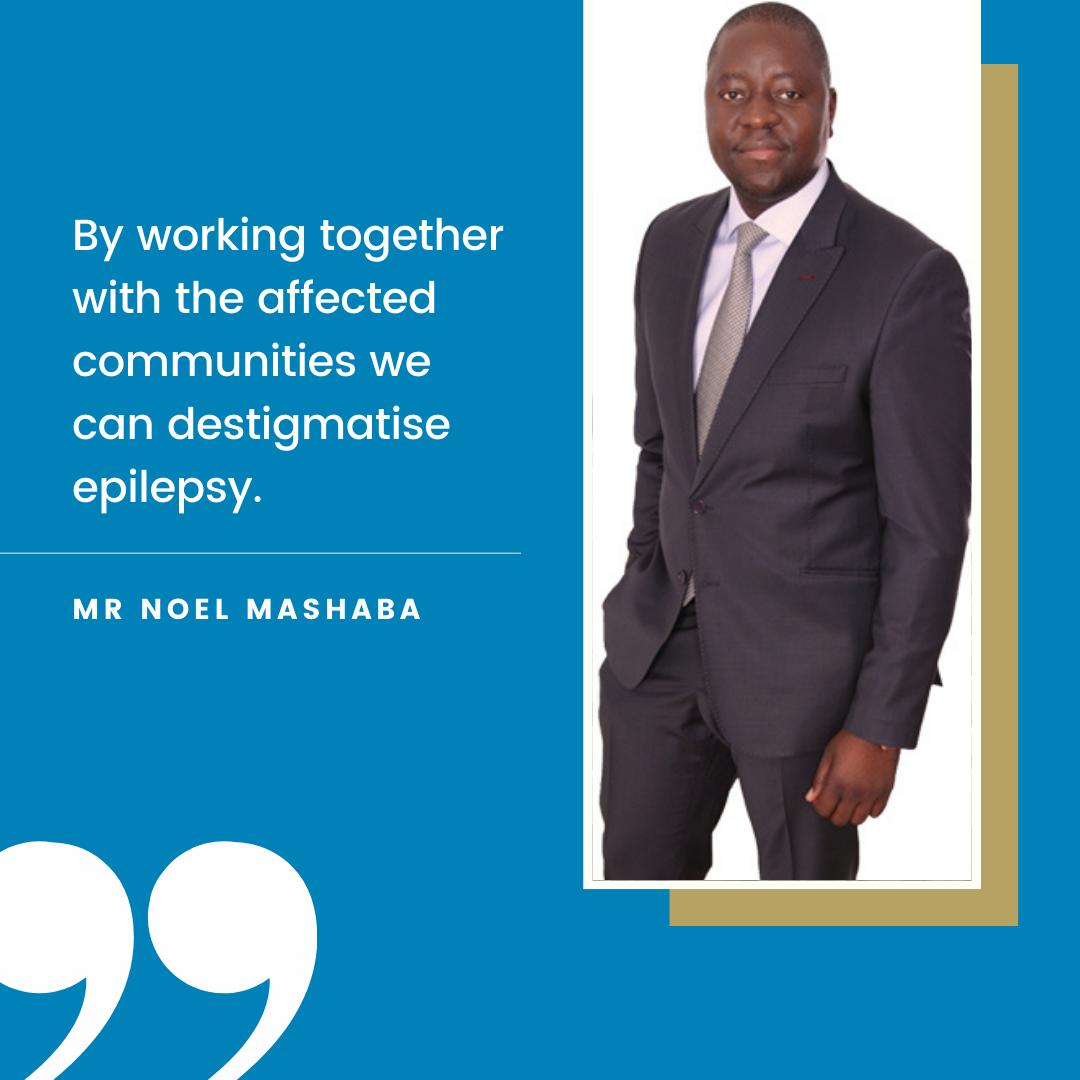 Noel Mashaba Epilepsy Support GladAfrica Foundation